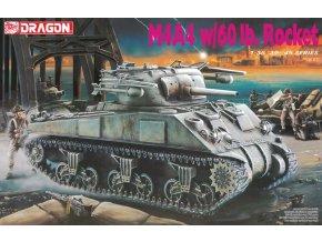 Dragon - M4A4 Sherman s RP-3 - 60 lb Rocket, Model Kit 6041, 1/35