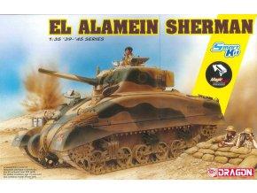 Dragon - M4 Sherman w/Magic Tracks, El Alamein, Model Kit 6617, 1/35