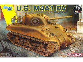 Dragon - M4A1 Sherman DV, SMART KIT, Model Kit 6618, 1/35