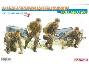 Dragon - figurky 1. Fallschirm-Jäger-Division, Holansko 1940, (GEN2), ModelKit 6276, 1/35