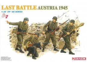 """Dragon - figurky německá pěchota, """"poslední bitva"""", Rakousko 1945, (GEN2), ModelKit 6278, 1/35"""