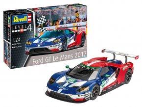 Revell - Ford GT, Le Mans 2017, Plastic ModelKit 07041, 1/24