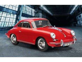 Revell - Porsche 356 B Coupe, EasyClick 07679, 1/16