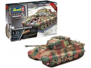 Revell - Panzerkampfwagen VI Ausf. B Tiger II, ''Königstiger'', Full Interior - Platinum Edition, Plastic ModelKit Limited Edition 03275, 1/35