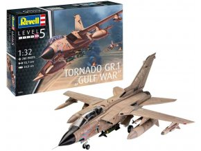 Revell - Panavia Tornado GR Mk.1, RAF, válka v Perském zálivu, Plastic ModelKit 03892, 1/32