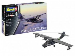 Revell - Consolidated PBY-5a Catalina, Plastic ModelKit 03902, 1/72