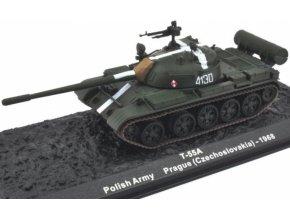 Altaya/IXO - T-55A, polská armáda,  Československo, Praha, 1968, 1/72 - SLEVA 25%