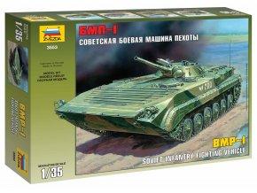 Zvezda - bojové vozidlo pěchoty BMP-1 / BVP-1, Model Kit 3553, 1/35