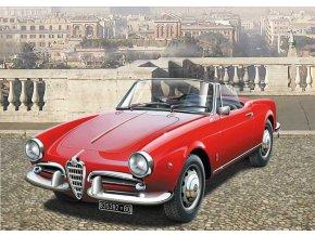 Italeri - Alfa Romeo Giulietta Spider 1300, Model Kit 3653, 1/24