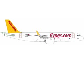 Herpa - Airbus A320-251N, dopravce Pegasus Airlines, Turecko, 1/500