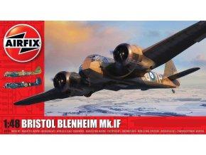 Airfix - Bristol Blenheim Mk.IF, Classic Kit A09186, 1/48