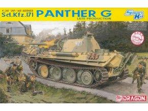 Dragon - Sd.Kfz.171 Panzerkampfwagen V Ausf.G Panther, Model Kit 6268, 1/35