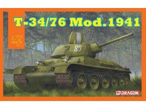 Dragon - T-34/76 Mod.1941, Model Kit 7590, 1/72