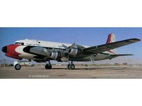 Revell - Douglas C-54D Skymaster, Blue Angels, Platinum Edition, Plastic ModelKit 03920, 1/72