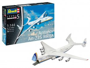 Revell - Antonov An-225 Mrija, Plastic ModelKit 04958, 1/144