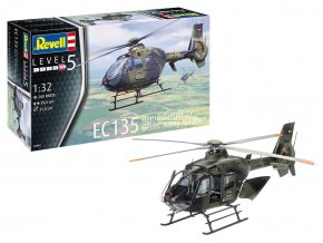 Revell - Eurocopter EC 135, Heeresflieger / German Army Aviation, Plastic ModelKit 04982, 1/32