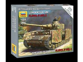 Zvezda - Panzer IV Ausf.H, Model Kit 6240, 1/100