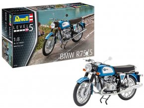 Revell - BMW R75/5, Plastic ModelKit 07938, 1/8
