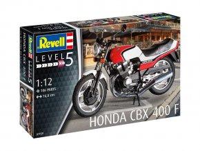 Revell - Honda CBX 400 F, Plastic ModelKit 07939, 1/12