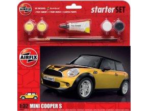 Airfix - MINI Cooper S, Starter Set A55310, 1/32