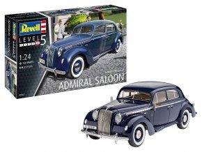 Revell - Opel Admiral Saloon, Plastic ModelKit 07042, 1/24