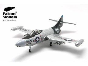 """Falcon Models - Grumman F9F-5 Panther, US Navy, """"The Blue Tail Fly"""", 1/72"""