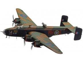 "Corgi - Handley Page Halifax B.III, RAF, 51 Sqn., ""Expensive Babe"", Snaith, březen 1945, 1/72"