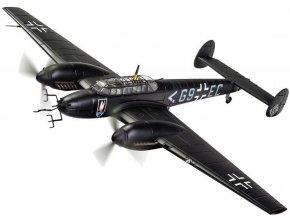 Corgi - Messerschmitt Bf 110E, Luftwaffe, Stab II./NJG 1, Deelen, Nizozemí, jaro 1942, 1/72