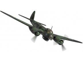 Corgi - Junkers Ju 88A-5, Luftwaffe, Stab III./KG51, zima 1940, 1/72