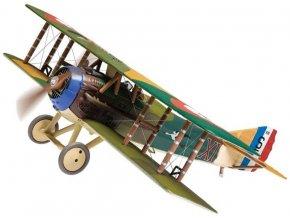 Corgi - SPAD XIII S7000, francouzské letectvo, Escadrille 103, allied Ace of Aces, Rene Fonck , Autumn, 1918, 1/48