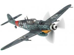 Corgi - Messerschmitt Bf 109 G-6/U2, Luftwaffe, 1./JG301, Horst Prenzel, White 16, Manston, červenec 1944, 1/72