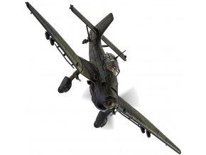 Corgi - Junkers Ju87B-2 Stuka, Luftwaffe, 9./StG.1, St. Pol, Francie, listopad 1940, 1/72