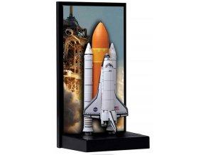 Dragon - raketoplán Atlantis, startovní konfigurace, 1/400