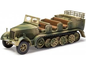 Corgi - Sd.kfz.7/1 2 cm protiletadlový kanón, Tunis, 1943, 1/50
