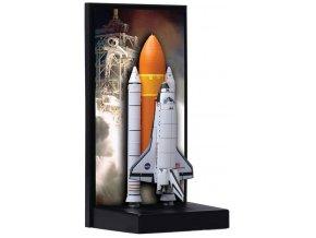 Dragon - raketoplán Endeavour, startovní konfigurace, 1/400