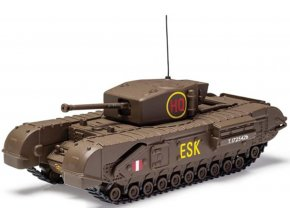 Corgi - Churchill MkIII, britská armáda, 6th Scots Guards Brigade, 1943, 1/50