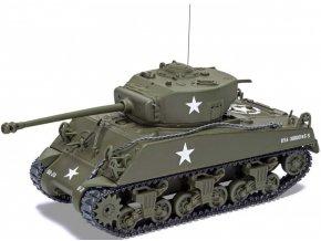 Corgi - M4A3 Sherman, US Army, Lucembursko, 1944, 1/50