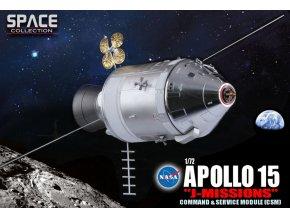 Dragon - Apollo 15, NASA, velitelský a servisní modul, 1971, 1/72