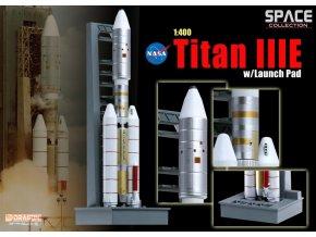 Dragon - raketa Titan IIIE, 1/400