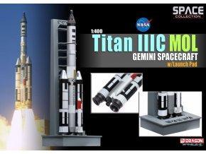 Dragon - raketa Titan IIIC s lodí Gemini, 1/400