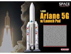 Dragon - raketa H-IIA ve startovní poloze, 1/400