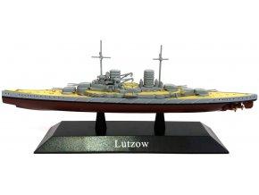 De Agostini - bitevní křižník SMS Lützow, 1915, 1/1250