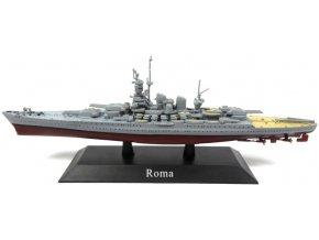 De Agostini - bitevní loď Roma, 1942, 1/1250