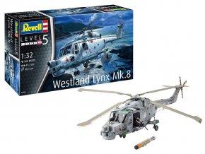 Revell - Westland Lynx Mk. 8, Plastic ModelKit 04981, 1/32