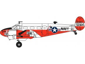 Oxford - Beechcraft C-45J Expeditor, US NAVY, 1/72