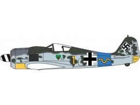Oxford - Focke Wulf Fw-190, Luftwaffe, 15./JG 54, Hauptmann Rudolf Klemm, 1/72