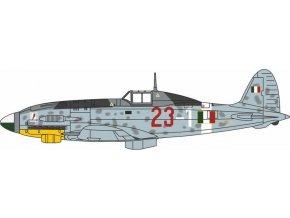 Oxford - Macchi MC.205 Veltro, italské letectvo, 1l.gorrini, 1 Squadriglia, 1/72