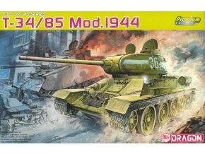 "Dragon - T-34/85 Mod.1944, ""PREMIUM EDITION"", Model Kit 6319, 1/35"