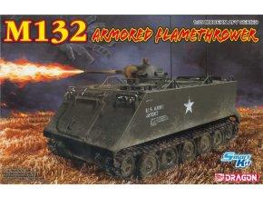 Dragon - M132 Armored Flamethrower, Model Kit 3621, 1/35