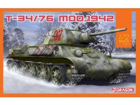 Dragon - T-34/76 Mod.1942, Model Kit 7595, 1/72